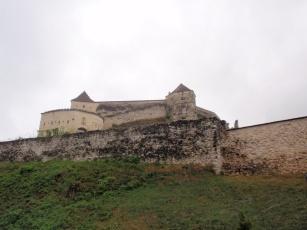 Cetatea Rasnov- the Rasnov fortress & ruins.